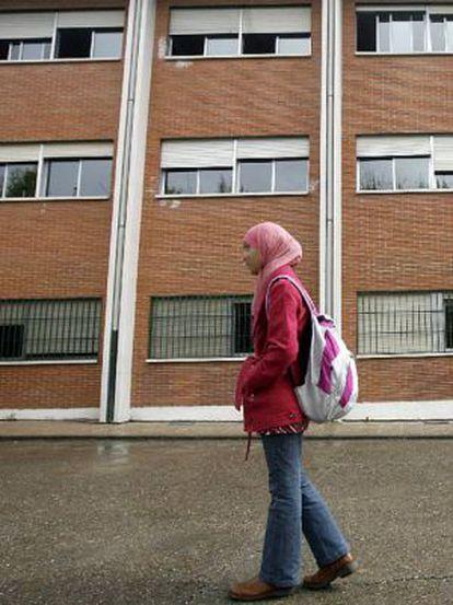 Najwa Malha, con su pañuelo en una imagen de 2010.