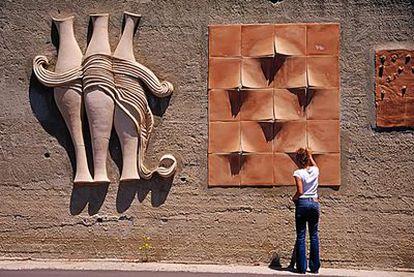 El parque de esculturas <i>Torrente del arte</i>.