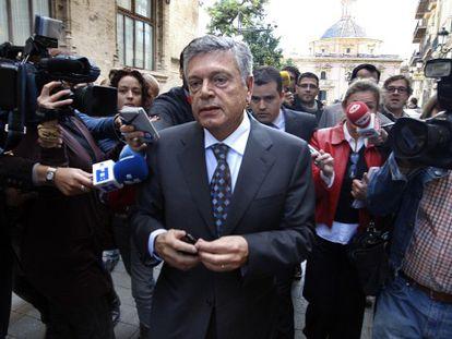 El expresidente de la CAM, Modesto Crespo.