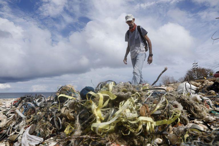 Jorge Sánchez, Coordinador de la ONG Help 2 Oceans, en San Andrés (Colombia).