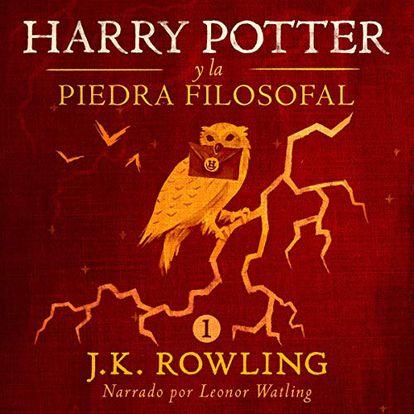 portada 'Harry Potter', J.K. ROWLING, audiolibrO. AUDIBLE