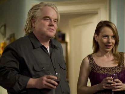 Philip Seymour Hoffman y Amy Ryan en 'Una cita para el verano'.