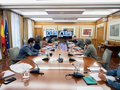 Reunión del Consejo Interterritorial del Sistema Nacional de Salud (SNS), el pasado 30 de septiembre.
