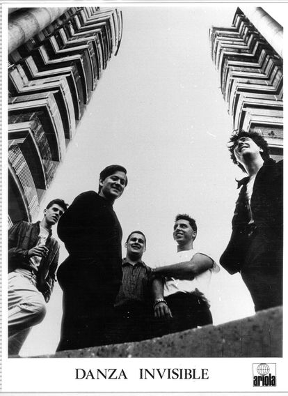 Los integrantes de Danza invisible en 1983.