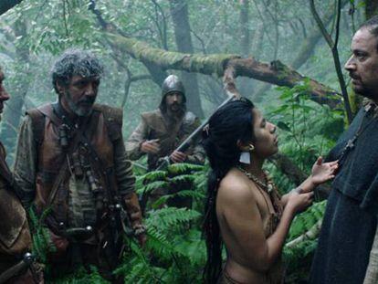 Una escena de 'Oro' rodada en Canarias. En vídeo, el tráiler.