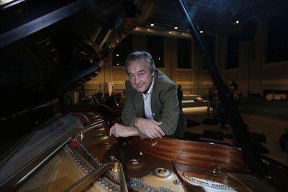 Lukas Pairon, director de MusicFund, la semana pasada en Madrid.