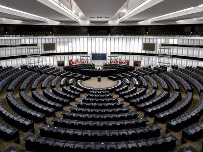 Parlamento europeo de Estrasburgo.