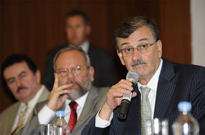 El ministro ecuatoriano de Recursos naturales no renovables, Wilson Pástor.
