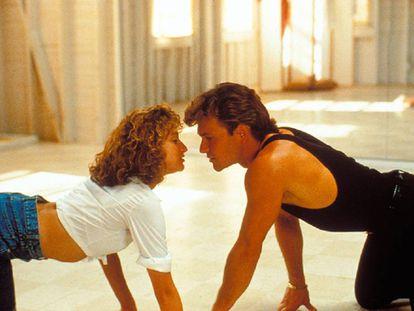 Un fotograma de 'Dirty Dancing'.