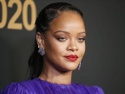 Rihanna, en los NAACP Image Awards, en California, el pasado febrero.