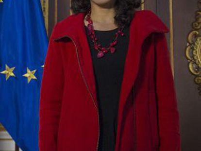 La candidata andaluza de Podemos, Teresa Rodríguez.