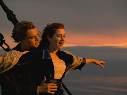 Fotograma de la película. En vídeo, el tráiler de 'Titanic' para una versión del filme lanzada en 2012 en tercera dimensión.