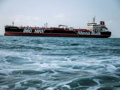 El petrolero británico 'Stena Impero'.
