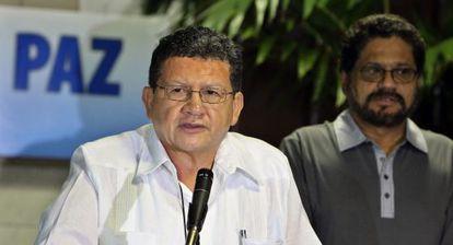 """""""Pablo Catatumbo"""" habla en nombre de las FARC en La Habana. / A. E. (EFE)"""