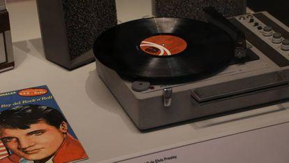 Tocadiscos y vinilo en el Museo de Ciencia y Tecnología