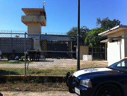 El centro penitenciario asaltado en México.