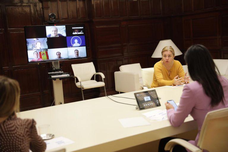 Celebración este jueves de la Junta de Gobierno del Ayuntamiento de Madrid.