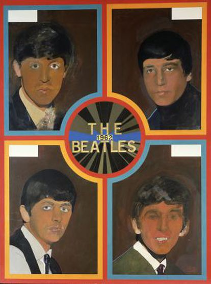 'The 1962 Beatles', 1963-1968, de Peter Blake.