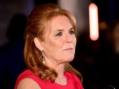 Sarah Ferguson, en una gala celebrada en Londres el octubre de 2019.
