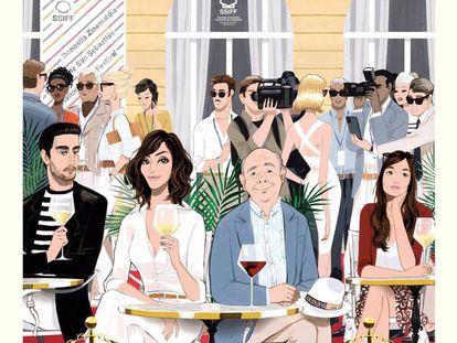 Cartel de la película 'Rifkin's Festival'.