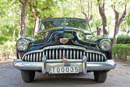 El Buick Eight de 1949 descapotable con el que Franco iba a cazar.