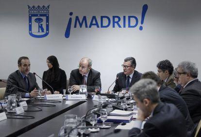 Comisión de investigación de la tragedia del Madrid Arena.