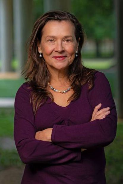 La química Naomi Halas, de la Universidad Rice (EE UU).