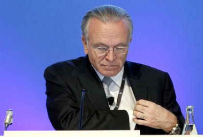 El presidente de CaixaBank, Isidre Fainé.