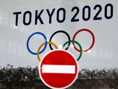 El logo de los Juegos de Tokio