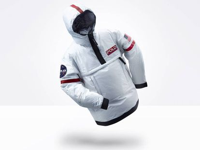 Una cazadora de astronauta y con calefacción individual