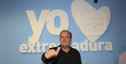 El presidente del PP en Extremadura, José Antonio Monago. EFE/Archivo