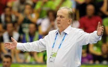 El entrenador de Eslovenia Bozidar Maljkovic