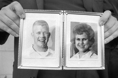 El primer asesino múltiple, Charles Whitman, y su primera víctima, su mujer.