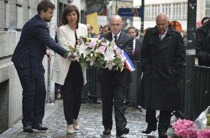 Ceremonia en memoria de las víctimas del atentado de Bruselas.