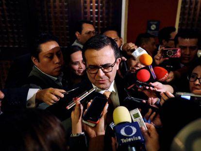 El secretario de Economía de México, Ildefonso Guajardo.