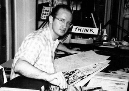 Steve Ditko, en una imagen de archivo.