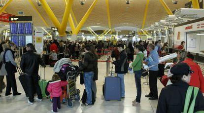 El aeropuerto Adolfo Suárez Madrid-Barajas.