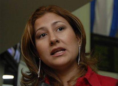 La diputada Xóchitl Ocampo.