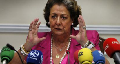 La alcaldesa de Valencia, Rita Barberá, en una foto de archivo.