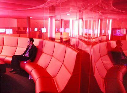 Imagen de las salas de cine del Forum des Images de París.