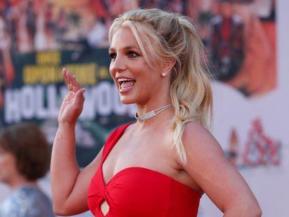 Britney Spears, durante el estreno de una película en Los Ángeles, en 2019.