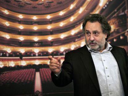 Josep Pons, nuevo director musical del Liceo.