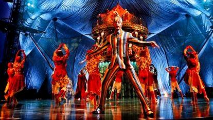 Imagen del espectáculo Kooza, uno de los más longevos del Circo del Sol, estrenado en 2010.
