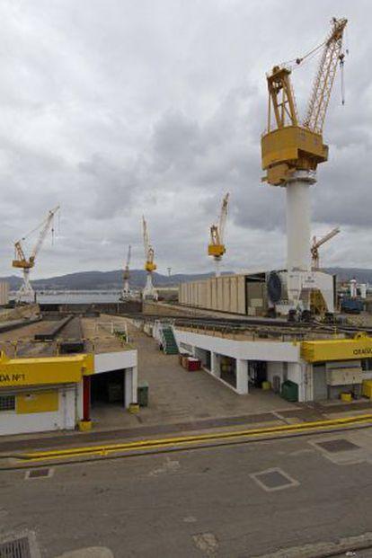 Astilleros Barreras de Vigo.
