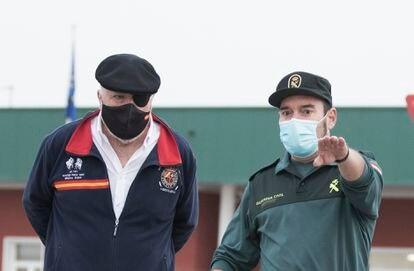 El comisario Villarejo abandona la cárcel de Estremera en Madrid, el 3 de marzo de 2021.