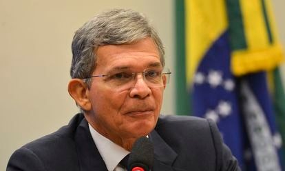 El nuevo presidente de Petrobras, el general Joaquim Silva, en una imagen de archivo.