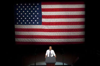 Obama, durante un discurso en California, el 23 de julio.