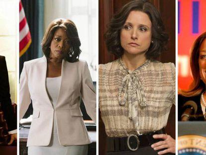 Repaso a algunas de las mujeres presidentas de EE UU en TV.
