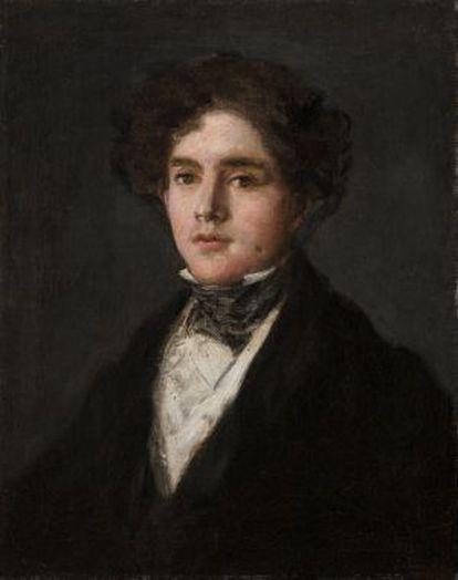 'Retrato de Mariano Goya, nieto del artista', una de las últimas pinturas de Francisco de Goya.