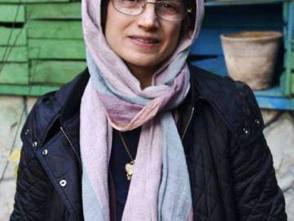 La abogada Nasrin Sotoudeh, en Teherán en diciembre de 2014.